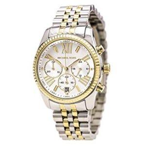 Michael Kors two toned Chronograph watch